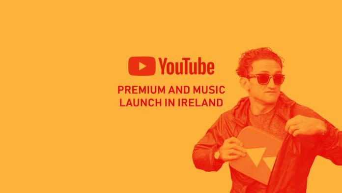 youtube premium ireland