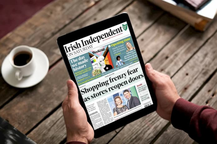 free newspapers on ipad from irish library
