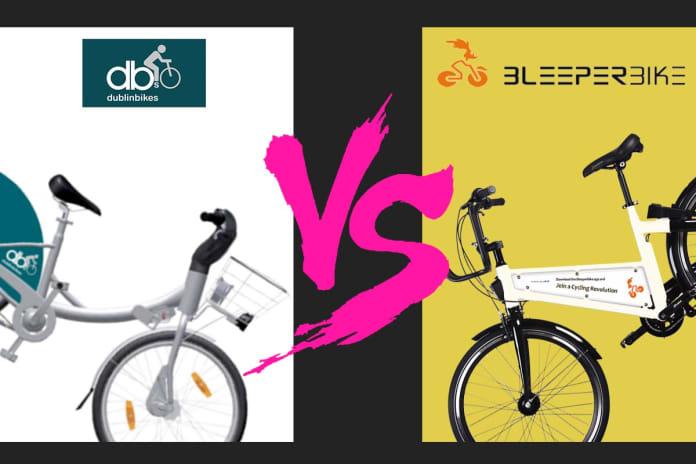 rent a bike in dublin bleeper bike