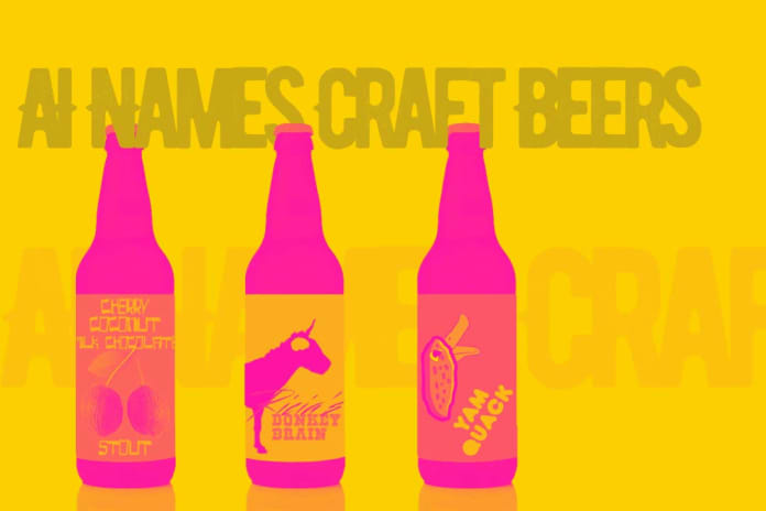 Practical Uses Of AI: Keeping Up With New Craft Beer Names