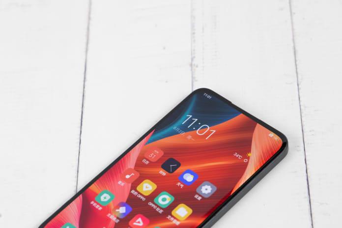 OPPO notch free smartphone design