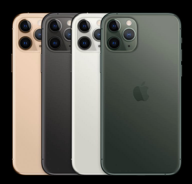 iPhone 11 pro colours