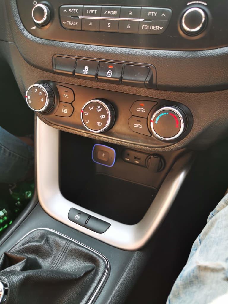 VIVA Pro in car