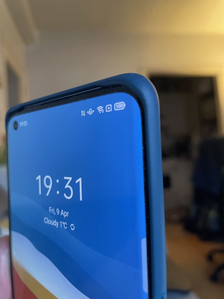 high quality case included with OPPO find x3 pro
