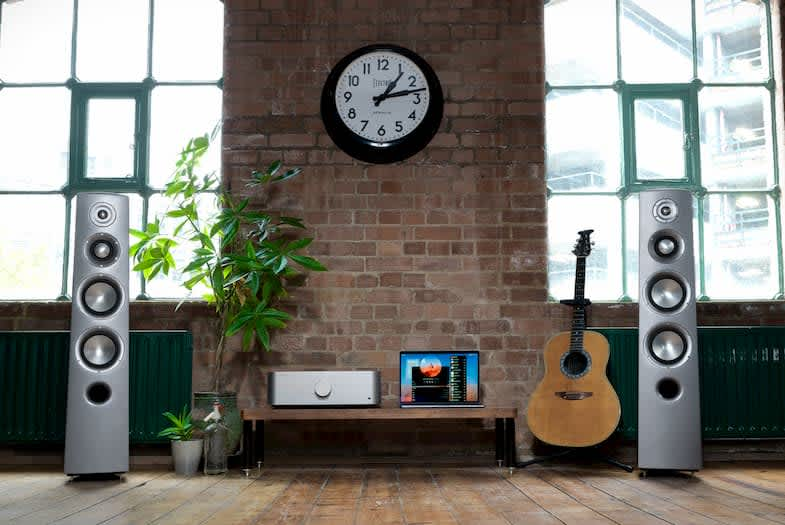 hifi setup from Cambridge audio