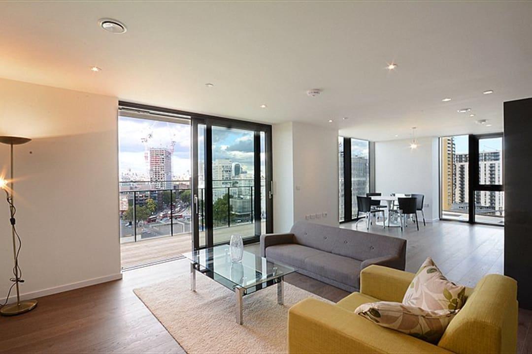 Flat to rent in St. Gabriel Walk, London, SE1 6FB - view - 1