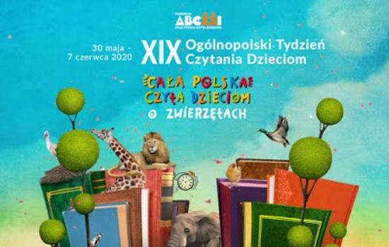 Cała Polska Czyta Dzieciom o zwierzętach!