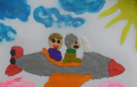 """Ilustracja do książki """"Pilot i ja"""""""