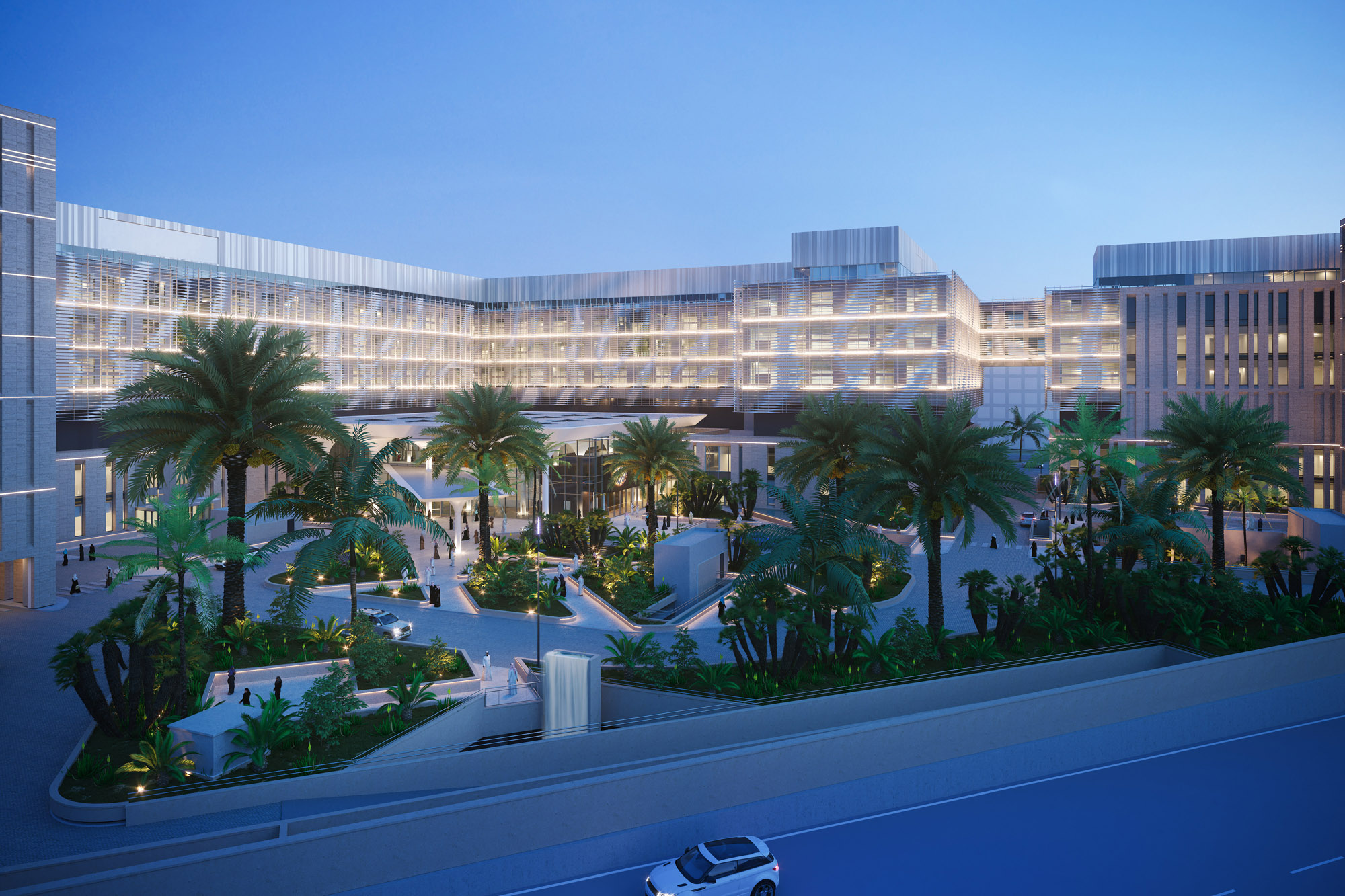 DHA designs the Middle East Hospital