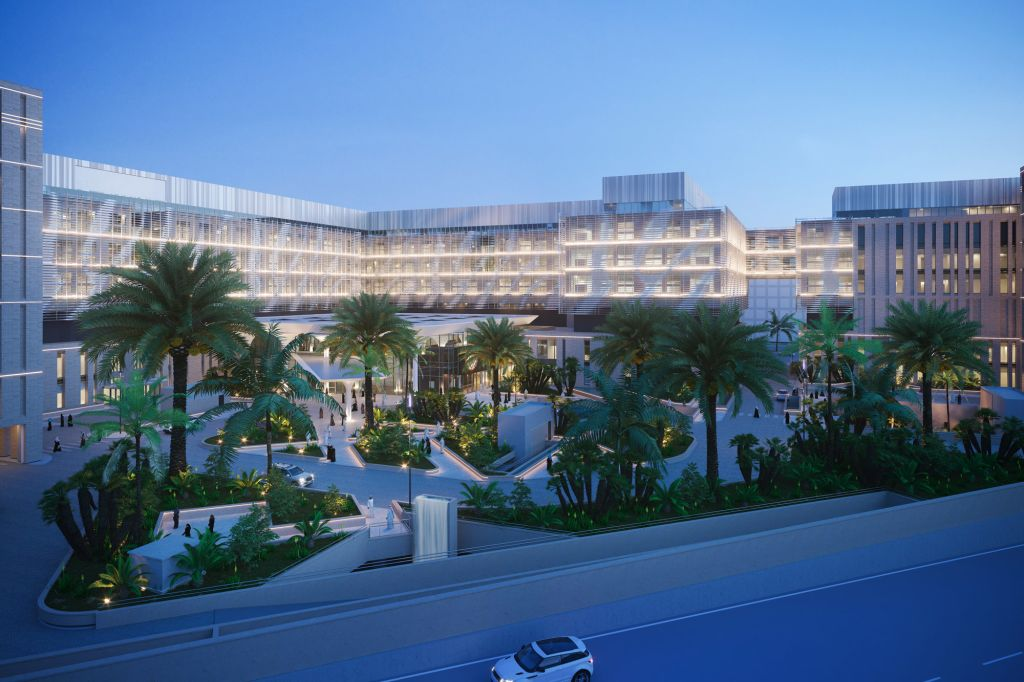 The Middle East Hospital in Riyadh, designed by Dutch Health Architects
