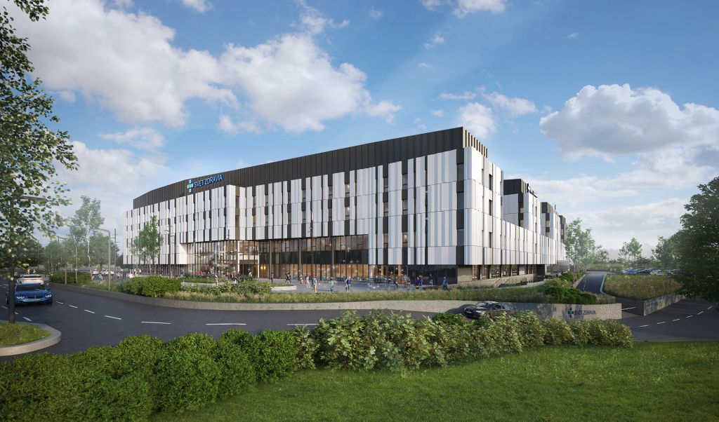 The Next Generation Hospital in Bratislava, designed by Dutch Health Architects