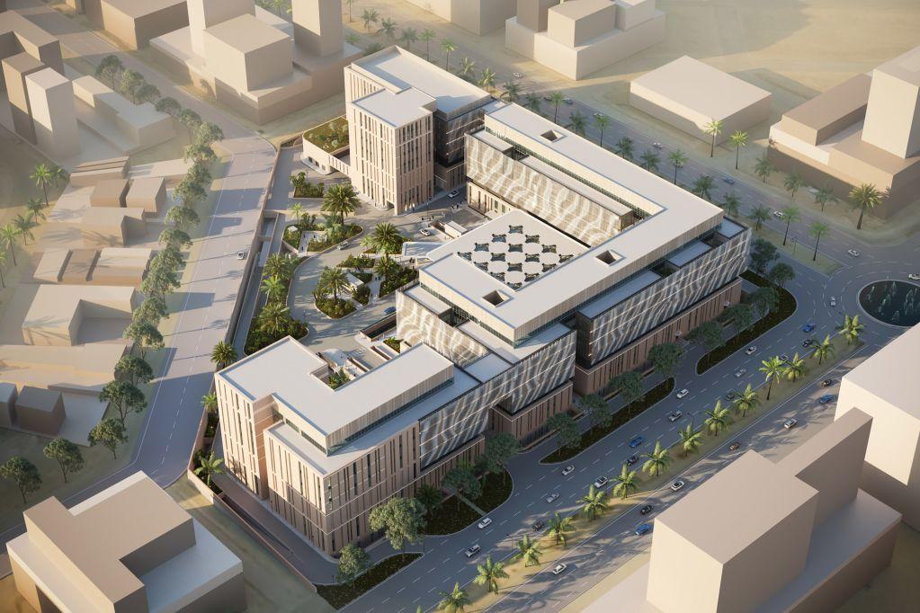The Middle East Hospital in Riyadh, designed by Dutch Health Architects