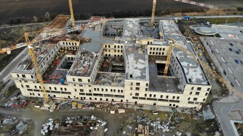 The Next Generation Hospital in Bratislava construction update