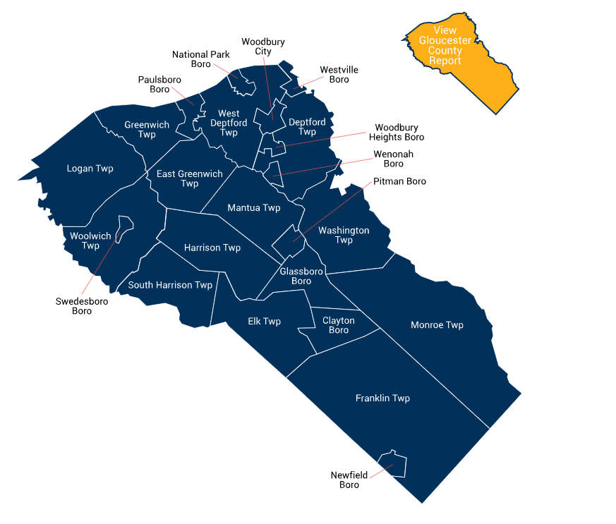 Gloucester County Map