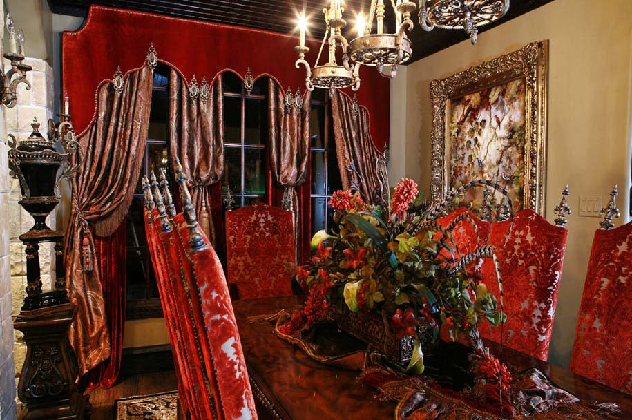 custom drapery and furniture in fort worth
