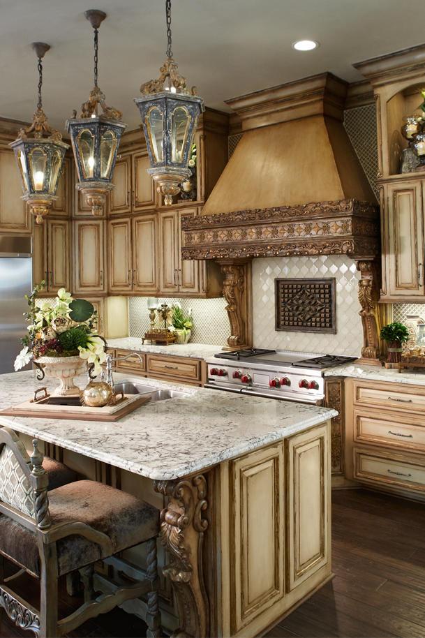 custom french kitchen design