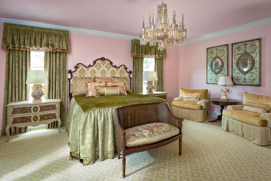 bedroom southern style interior design