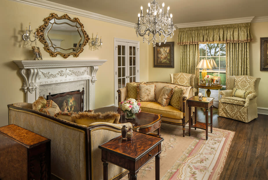 southern style interior design and custom furniture
