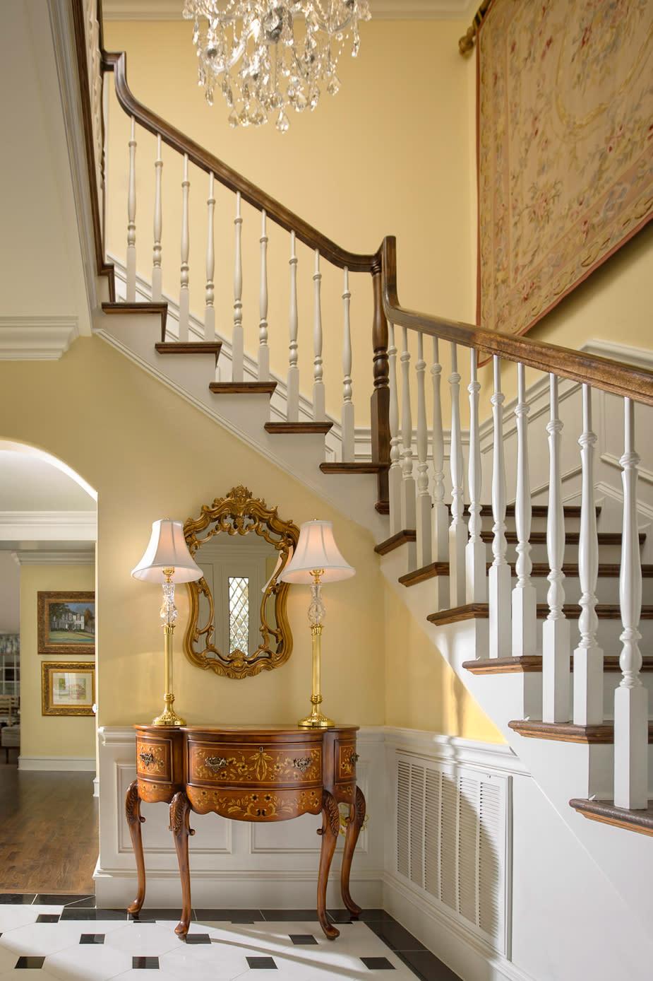 custom stair case