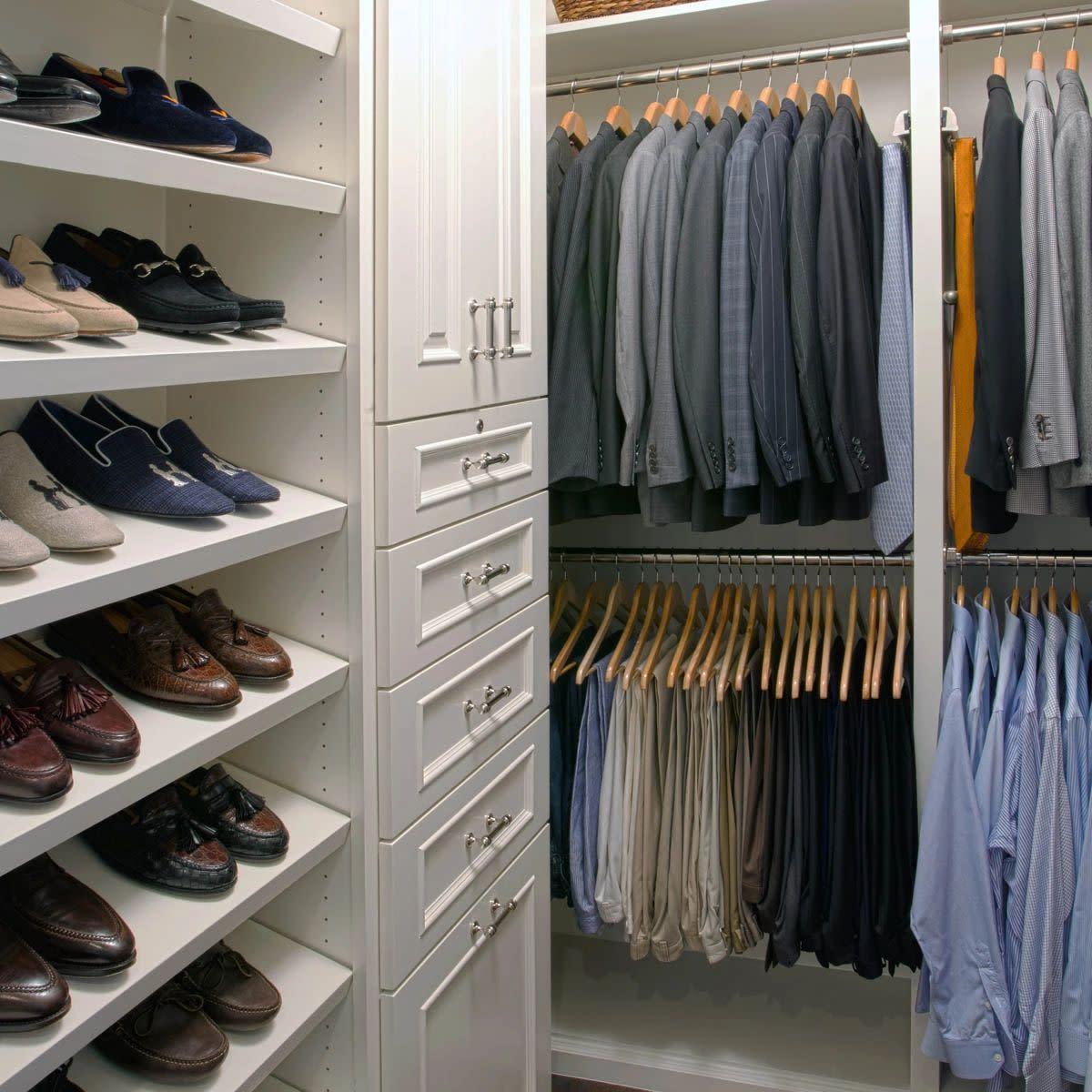 his closet