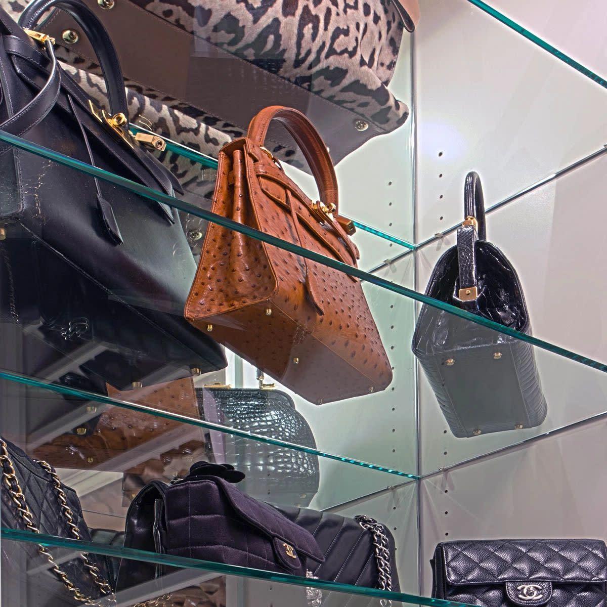 closet handbag storage