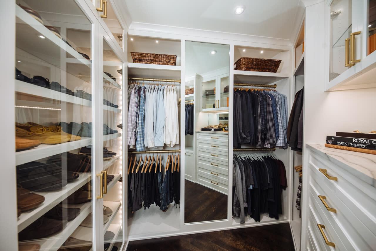 mens Custom Closet