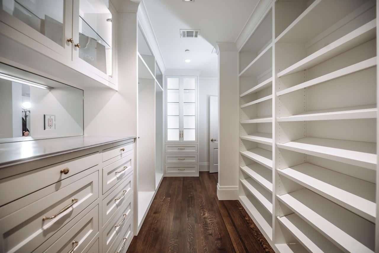 custom designed closet dallas