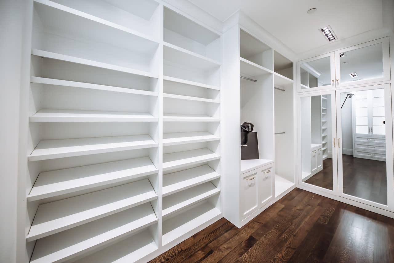 custom designed closet