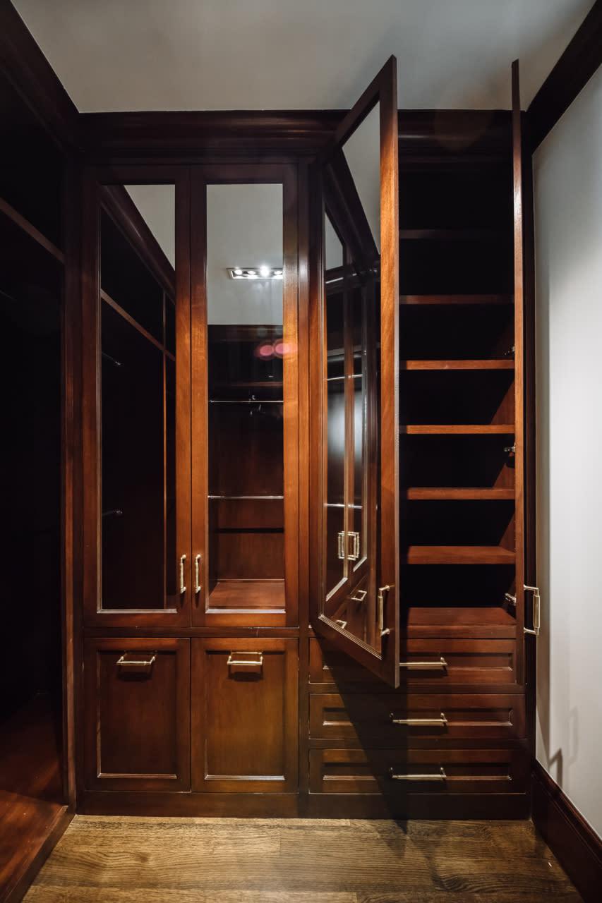 closet storage and shelving