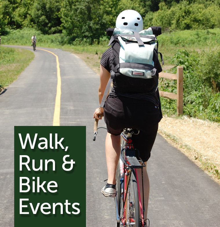 Walk, Run & Bike Events in the Parks