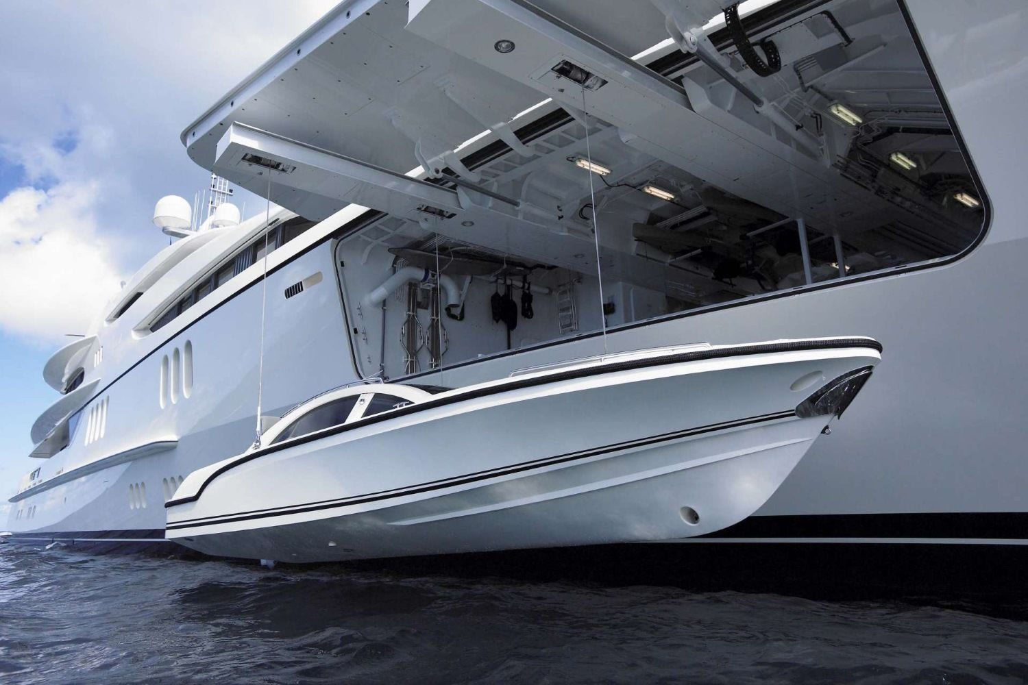 ANNA super luxury motor yacht for charter with B & Y