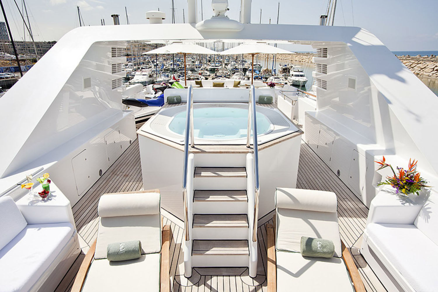 Eclipse Luxury Motor Yacht For Charter With B Y Charters
