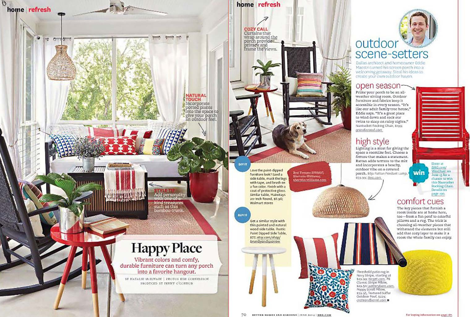 Better Homes And Gardens June 2014