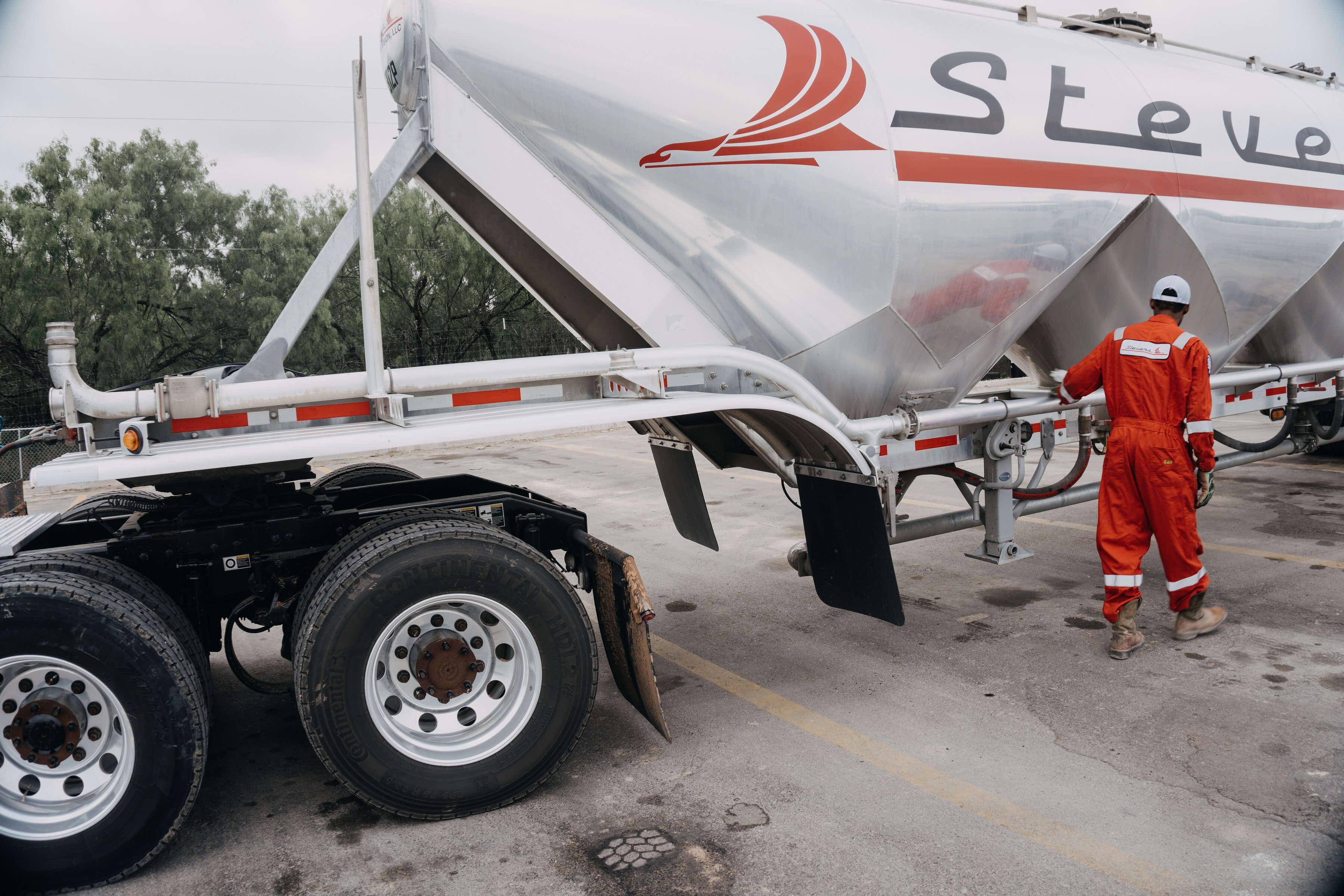 Driving Sand For Stevens Tanker | Tanker Driver Job