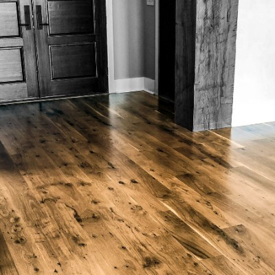 Solid and engineered wood flooring.