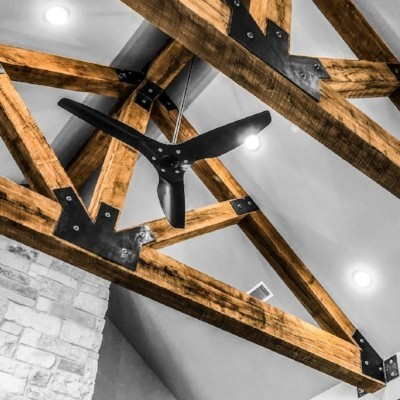 oak-wood-truss