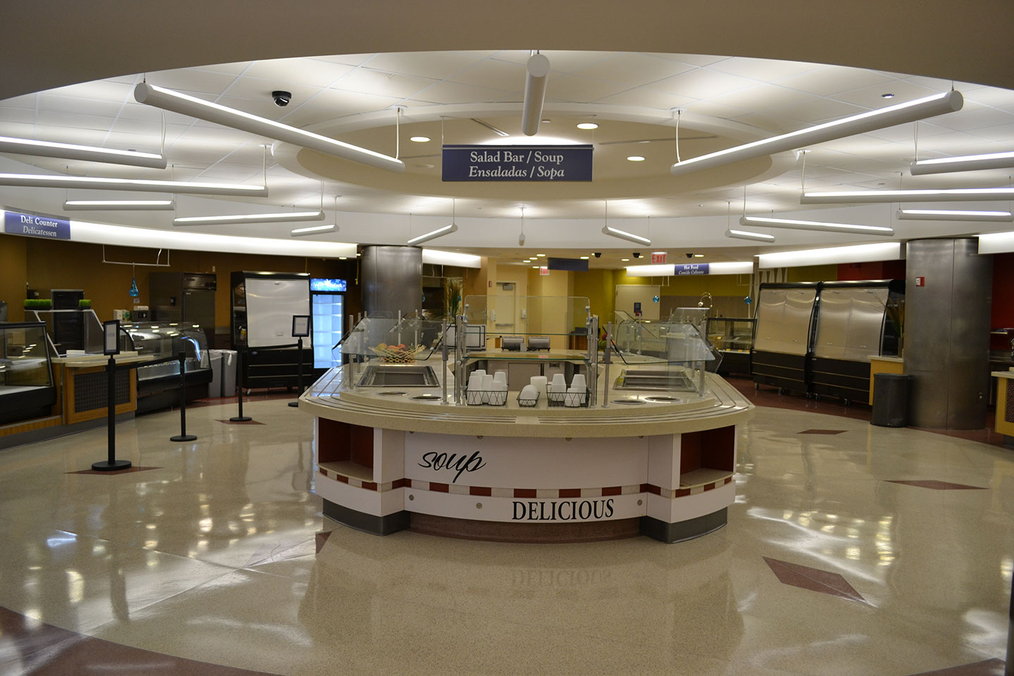 Stroger Hospital Cafe Renovation 13
