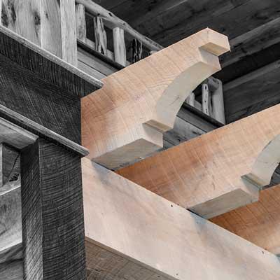 custom-cut-wood-corbel
