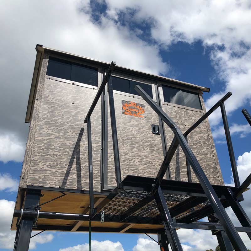 Antler shed deer blinds are some of the highest quality deer stands available. Aluminum deer blind.