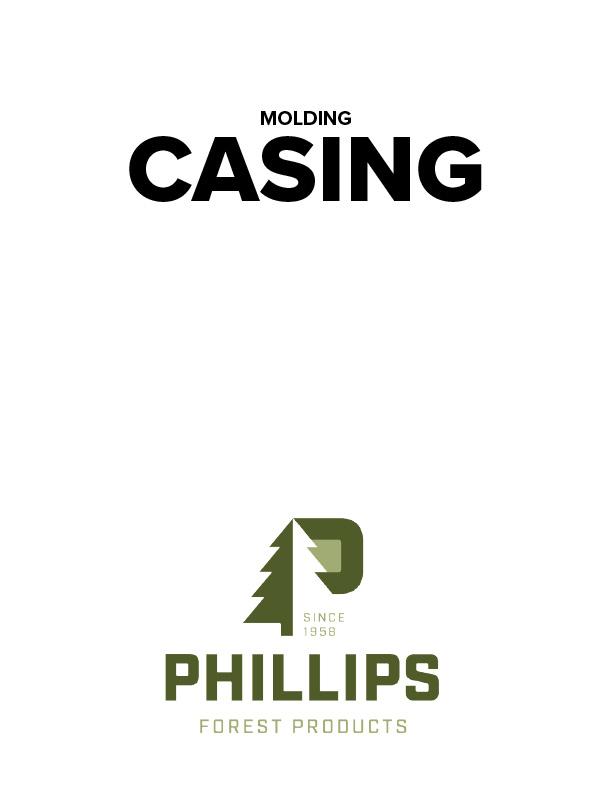 Wood casing catalog of molding patterns.