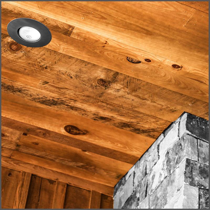 wood t/g paneling