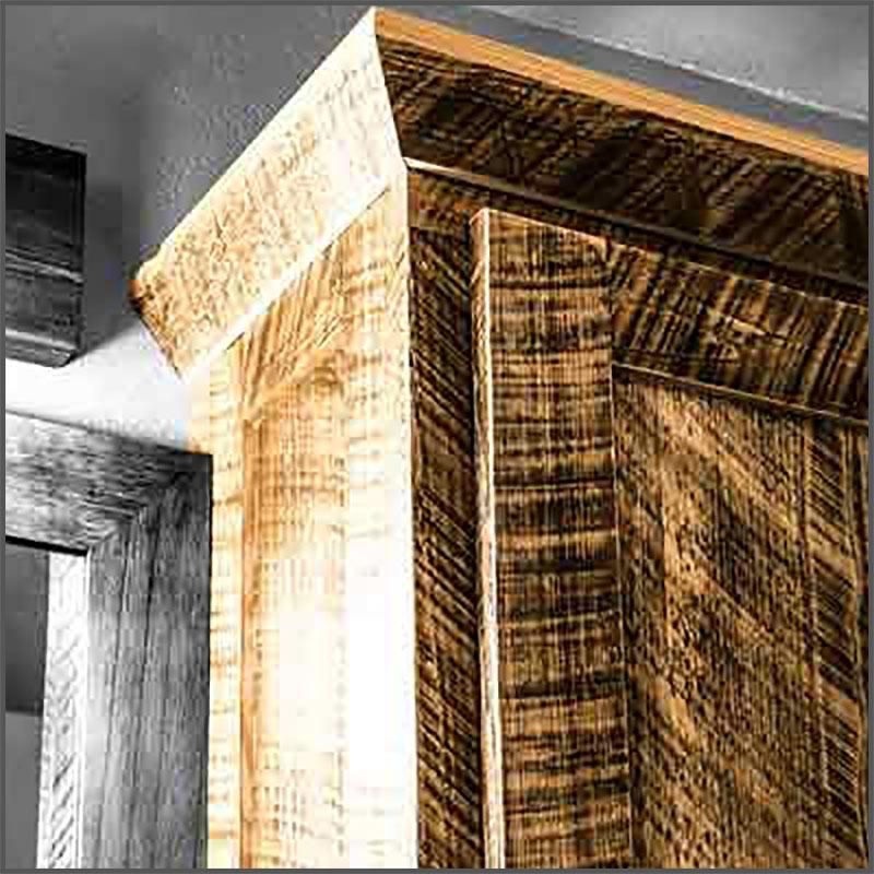 Circle sawn kiln dried Cypress lumber