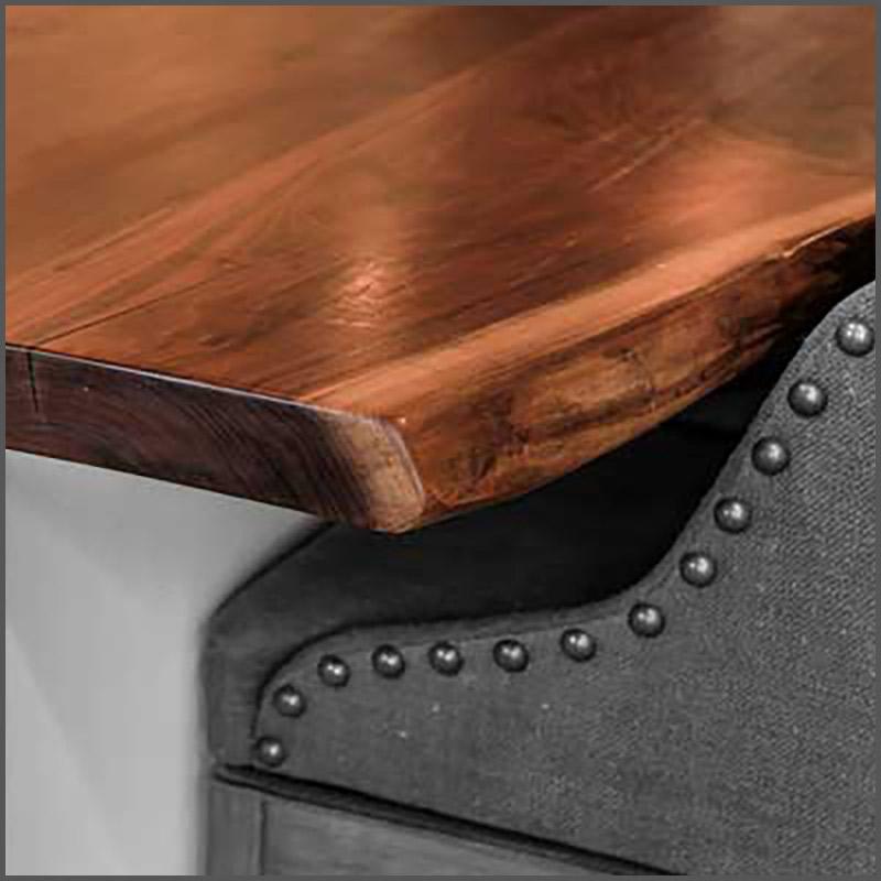 Live edge Walnut wood slabs and shelving