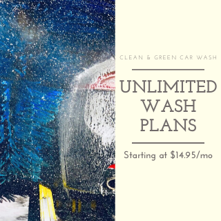 Unlimited Monthly Wash Plans