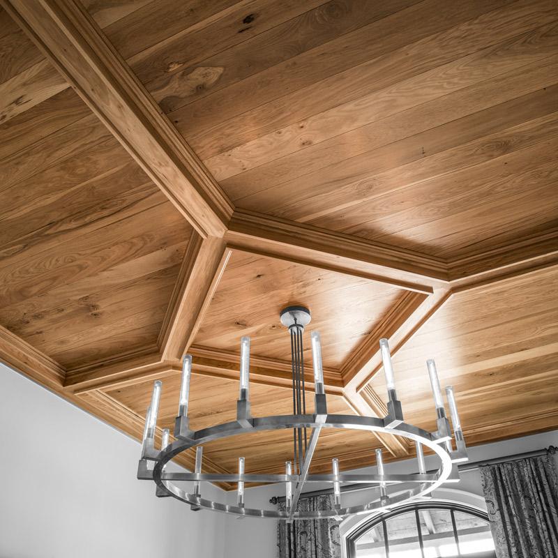 white oak wood siding