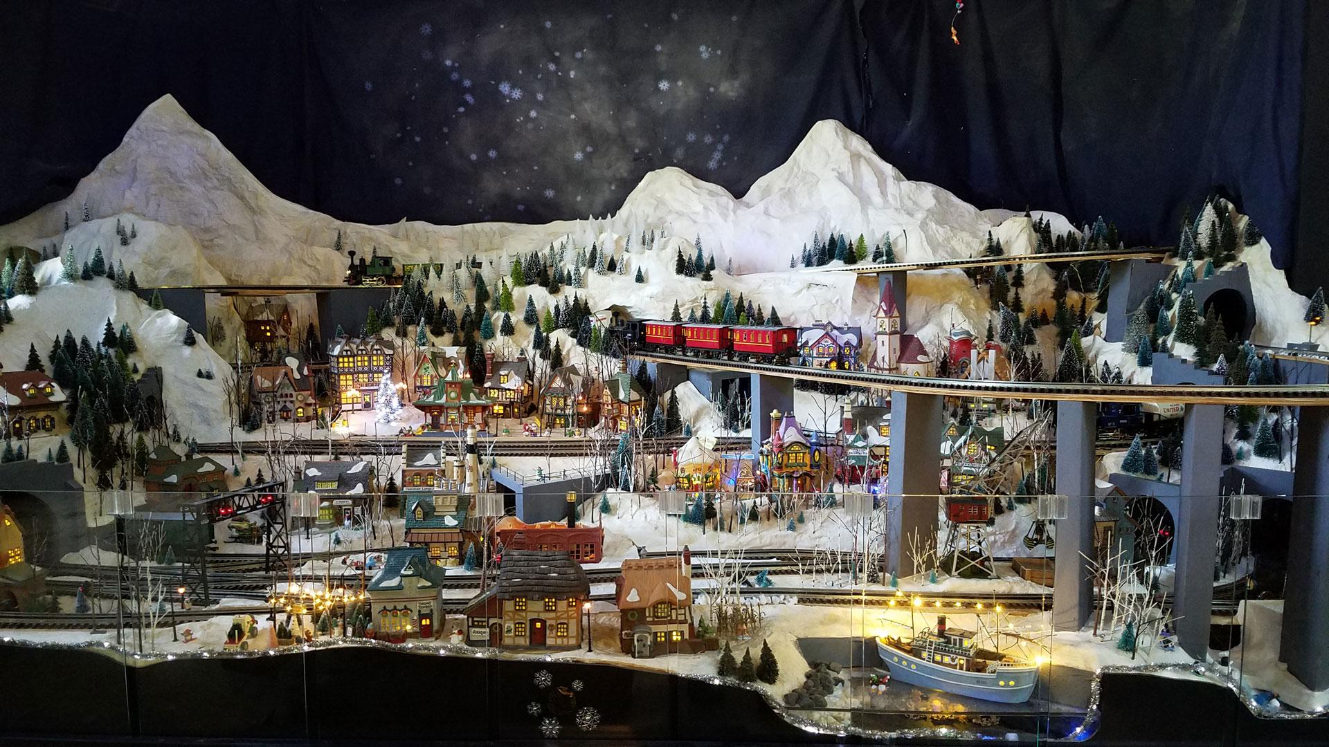Holiday Train Display