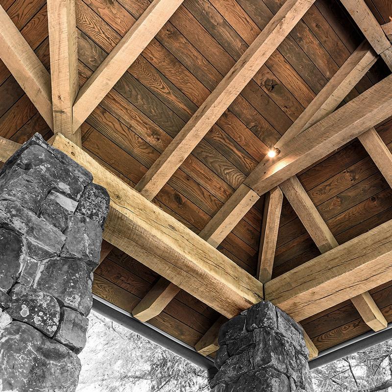 solid wood beams