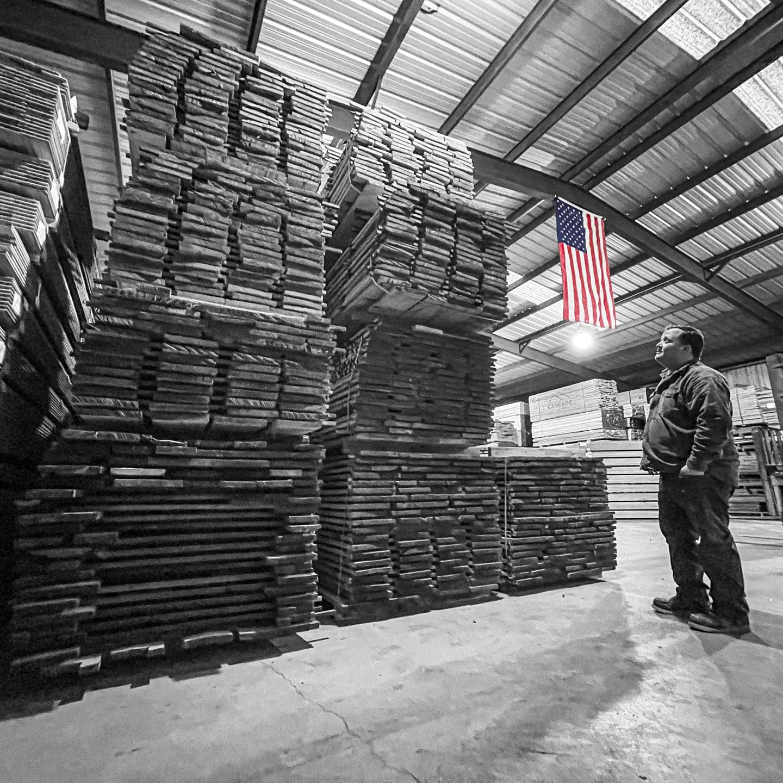 Hardwood lumber in Texas