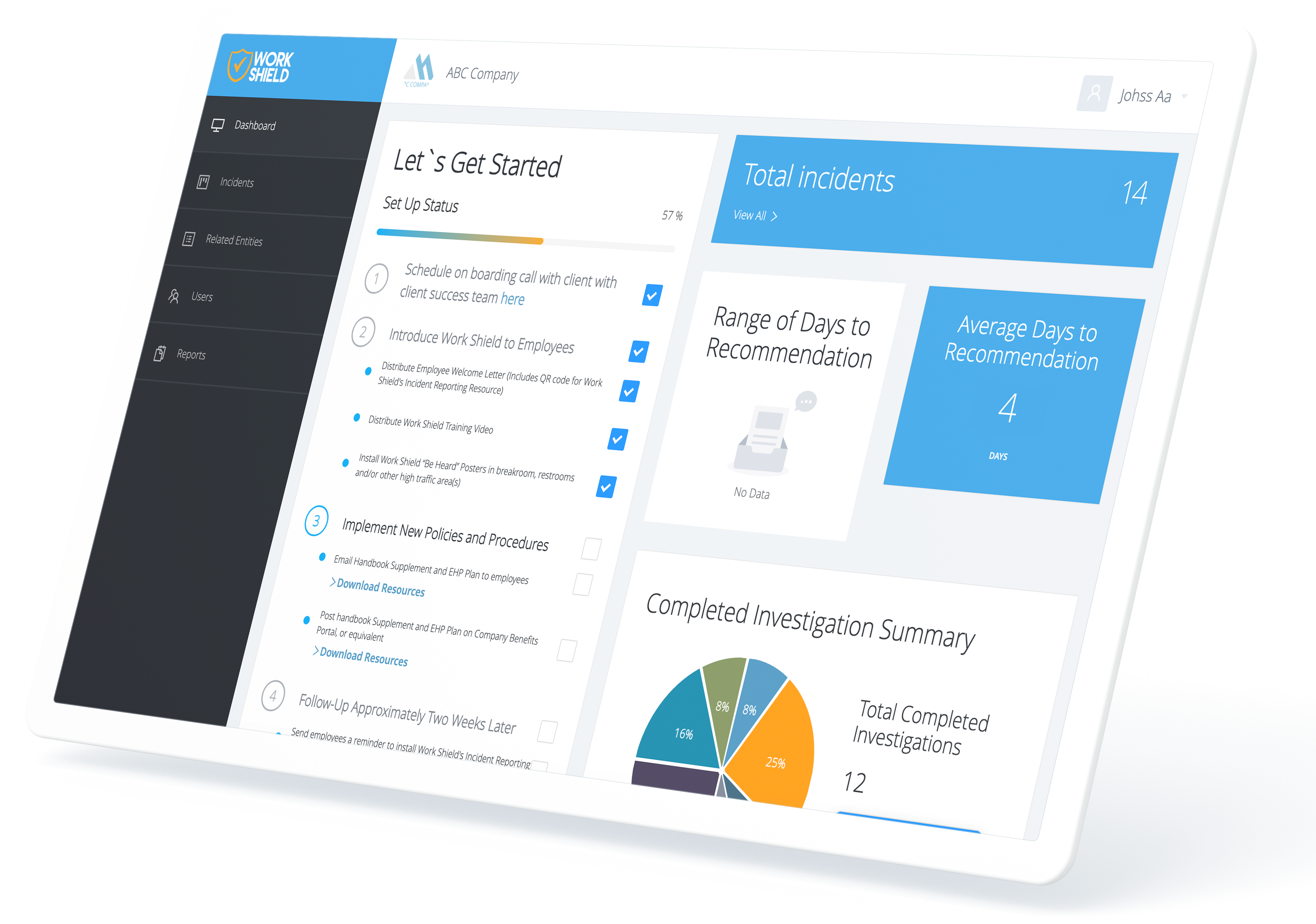 Work Shield combines technology and people to resolve misconduct in the workplace