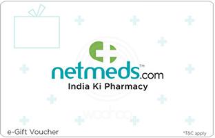 Netmeds E-Gift Card